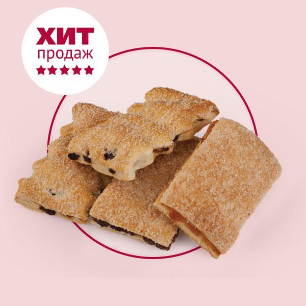 Печенье слоеное Полоски
